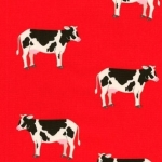 KAUFMAN - What Do The Animals Say - Cows Red