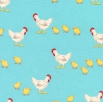 KAUFMAN - What Do The Animals Say - Chickens Blue