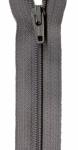 Zipper - Grey Kitty 14in Bulk YKK Zipper