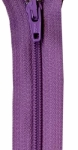 Zipper - Lilac 14in Bulk YKK Zipper