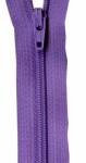 Zipper - Princess Purple 14in Bulk YKK Zipper