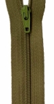 Zipper - Mossy 14in Bulk YKK Zipper
