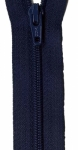 Zipper - Navy Blue 14in Bulk YKK Zipper