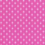 KAUFMAN - Violet Craft Modern Classics - Gumdrop - Fuschia Stars