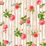 KAUFMAN - Farmhouse Rose - Ivory - #2706-