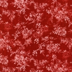 KAUFMAN - Farmhouse Rose - Red/Ivory - #2707-