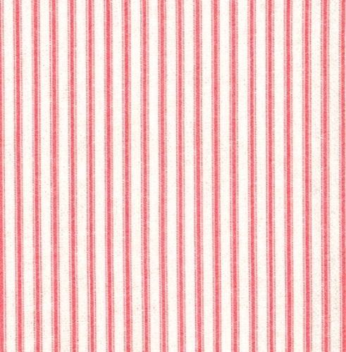 KAUFMAN - Farmhouse Rose - Stripe Pink
