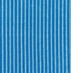 KAUFMAN - Farmhouse Rose - Blue Stripe