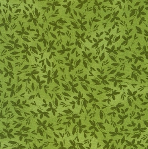 KAUFMAN - Farmhouse Rose - Green Leaves