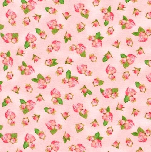 KAUFMAN - Farmhouse Rose - Pink