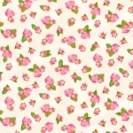 KAUFMAN - Farmhouse Rose - Tiny Floral Ivory