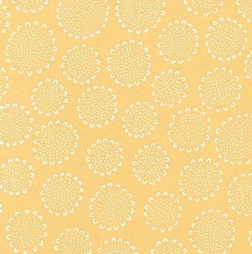 Skinny - SK3002- 2/3 yds - KAUFMAN - Blueberry Park - Mustard