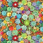 KAUFMAN - The Potted Garden - Digital - Garden