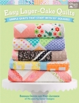 Easy Layer-Cake Quilts Book by Barbara Groves & Mary Jacobson