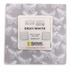 Benartex - Better Basics Gray/White 5x5 Pack 42 pcs