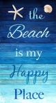 TIMELESS TREASURES - Beach - The Beach Is My Happy Place - PANEL - PL125