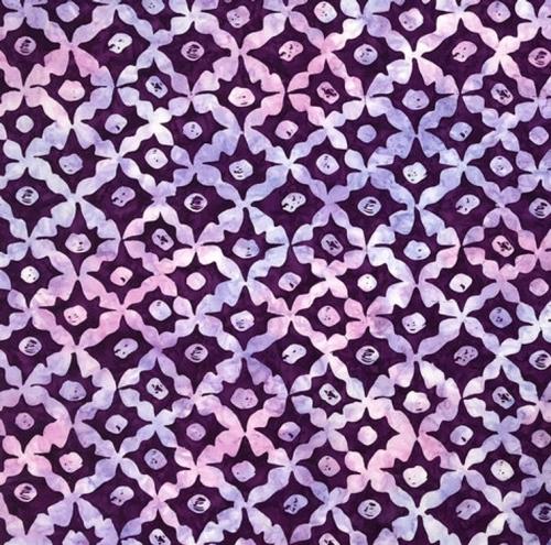 FREE SPIRIT - Kaffe Fassett - Batik - Stars - Lavender