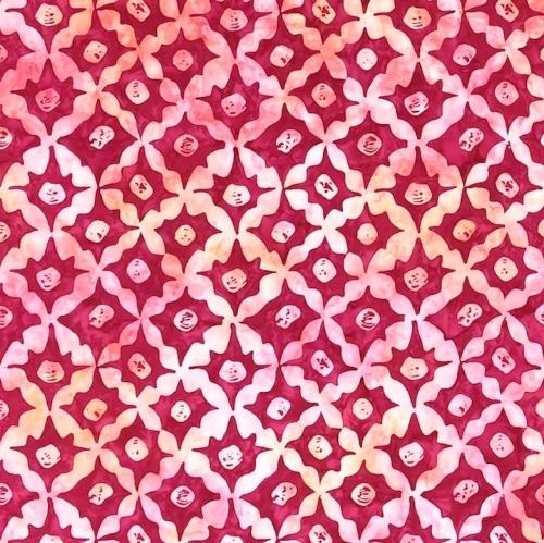 FREE SPIRIT - Kaffe Fassett - Batik - Stars - Pink