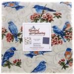 Bluebird Gathering 10x10 Pack by Benartex