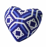 Blue Heart Pin Cushion by Sew Easy