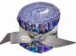 Quilting Treasures - Botanica Iris Strippies 2.5 Inch Roll 12 pcs