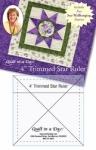 4 Inch Trimmed Star Ruler