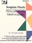 Thick and Clear Template Plastic