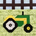 Brians Tractor Block Kit - Fun on the Farm