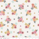 RILEY BLAKE - Meadow Lane - Posies - Off White