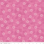 RILEY BLAKE - Meadow Lane - Scribbled Floral - Pink
