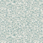 RILEY BLAKE - Gingham Gardens - Blossoms - Teal