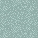 RILEY BLAKE - Gingham Gardens - Stems - Teal