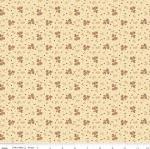 RILEY BLAKE - Bountiful Autumn - Ditsy - Cream
