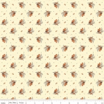 RILEY BLAKE - Bountiful Autumn - Sprigs - Cream