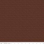 RILEY BLAKE - Bountiful Autumn - Plaid - Rust