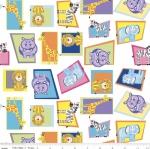RILEY BLAKE - Crayola Colorful Friends - Animals - White
