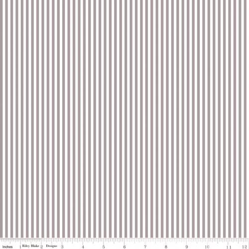 RILEY BLAKE - Stripes - Gray