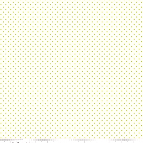 RILEY BLAKE - Swiss Dot - Small - Lime - #2601-