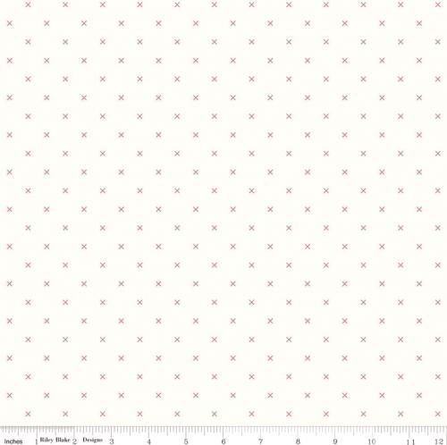 RILEY BLAKE - Bee Backgrounds - Cross Stitch - Cayenne