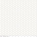 RILEY BLAKE - Bee Backgrounds - Honeycomb - Gray