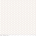 RILEY BLAKE - Bee Backgrounds - Honeycomb - Red