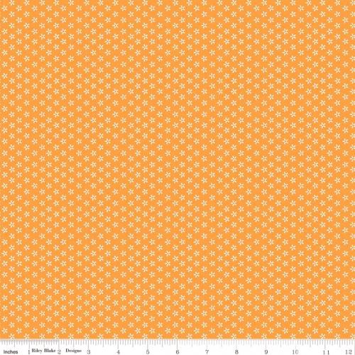 RILEY BLAKE - Bee Basics by Lori Holt - Tiny Daisy - Macaroni