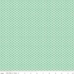 RILEY BLAKE - Bee Basics by Lori Holt - Tiny Daisy - Teal