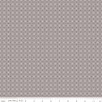 RILEY BLAKE - Bee Basics by Lori Holt - Polka Dot - Gray