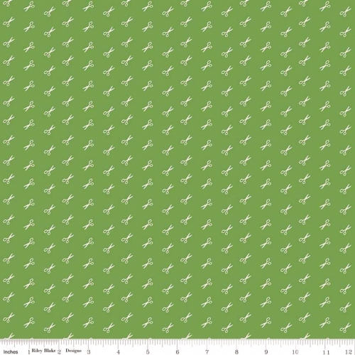 RILEY BLAKE - Bee Basics by Lori Holt - Scissor - Green