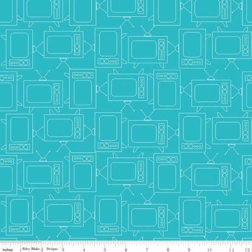 RILEY BLAKE - Bee Basics by Lori Holt - TV - Turquoise