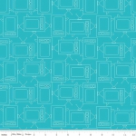 RILEY BLAKE - Bee Basics by Lori Holt - TV - Turquoise