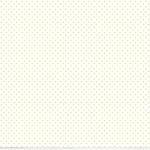 RILEY BLAKE - Swiss Dot White - Yellow
