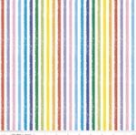 RILEY BLAKE - Crayola Colorful Friends - Stripe - Multi