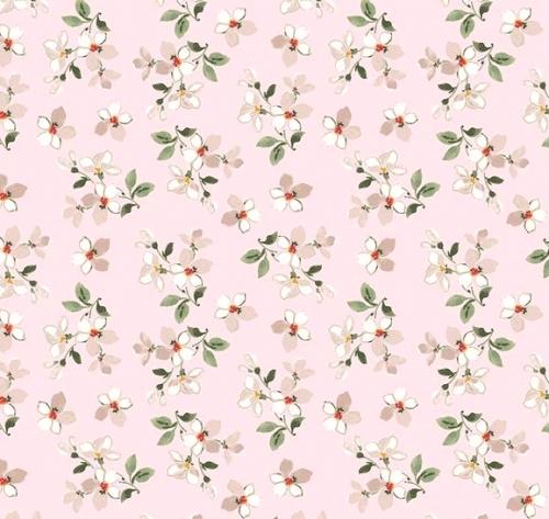 RILEY BLAKE - Farmhouse Floral - Pink - FB7316